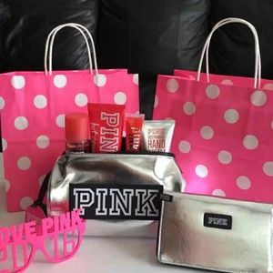 """PINK """"Time to Party"""" Gift Set w/ Matching Wallet"""